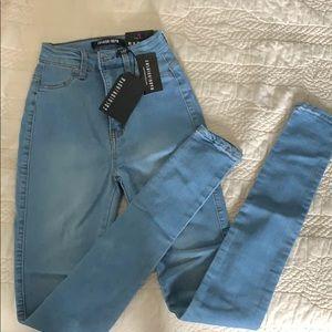 Fashion Nova Classic High Wait Skinny Jeans